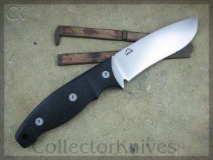 Landi Knives 2014 154CM Black Micarta Bull Maverick