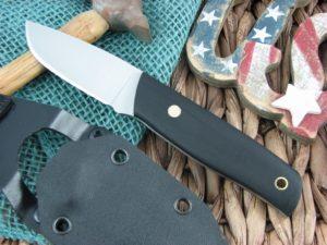 Landi Knives PSK Black G10 A2