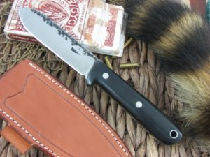 Lon Humphrey Kephart Spear with Black Micarta handles and CPM3V steel