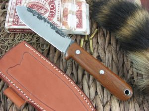 Lon Humphrey Kephart Spear with Natural Micarta handles and CPM3V steel