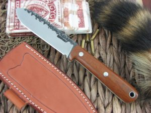 Lon Humphrey Kephart Spear with Natural Micarta with White Liner handles and CPM3V steel