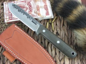 Lon Humphrey Kephart Spear with OD Green Micarta with White Liner handles and CPM3V steel