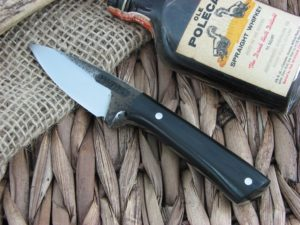 Lon Humphrey Whitetail with Black G10 handles and 1095 steel