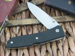 Lion Steel Opera Spear blade Black G10 handles D2 steel 8800BK