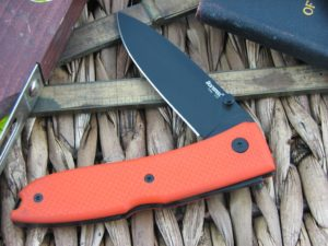 Lion Steel Opera Spear blade Orange G10 handles D2 steel 8800BOR