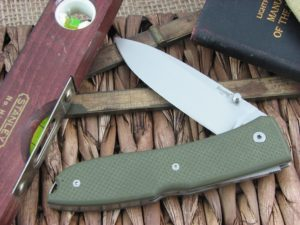 Lion Steel Big Opera Spear blade Green G10 handles D2 steel 8810GN