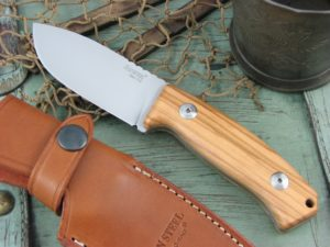 Lion Steel M2 Olive Wood handles D2 steel M2UL