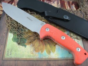 Maserin Cutlery Wild Boar Hunter Orange G10 440C 978-G10A