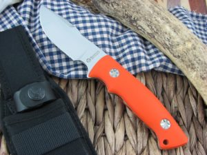 Maserin Cutlery Bacchilega Hunter Orange G10 N690 986-G10A