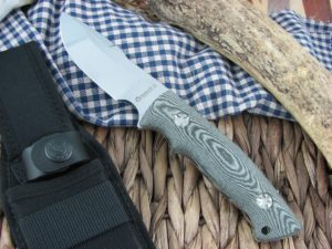 Maserin Cutlery Bacchilega Hunter Black Micarta N690 986-MC