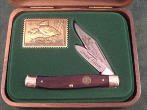 Schrade USA 1995 Duck Stamp Jack A