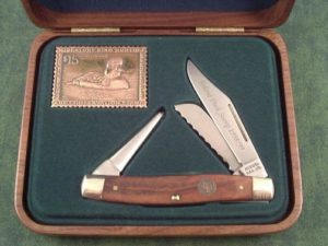 Schrade USA 1999 Duck Stamp Stockman B