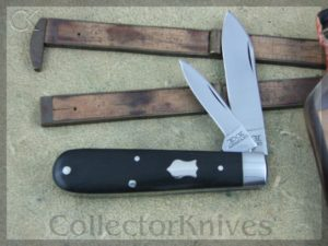 Schatt & Morgan First Heritage Spear Ebony Wood 2Blade Jack