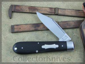 Schatt & Morgan First Heritage Clip Ebony 1Blade Jack