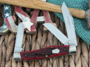 Schatt and Morgan 2006 Gunstock Stockman O43150 Crimson Bone
