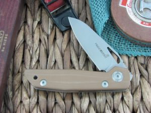 Viper Cutlery Free Spear Brown G10 handles D2 steel Stonewashed 4892BW