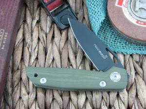 Viper Cutlery Free Spear OD Green G10 handles D2 steel Black PVD 4894GR