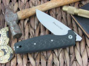 Viper Cutlery Dan1 Clip Carbon Fiber handles N690 steel Satin 5928FC