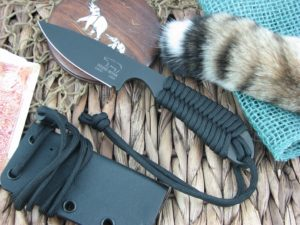 White River Knife Backpacker Black IonBond Black Paracord CPM S30V WRBPBLCBI