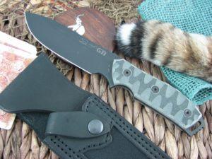 White River Knife Gingrich GTI 4.5 Black IonBond Black Micarta CPM S35VN WRGTI45MIC