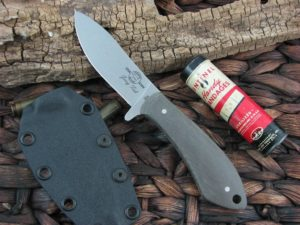 White River Knife Sendero Pack Stone Wash OD Canvas Micarta CPM S30V WRJFPAC