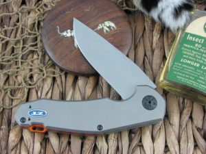 Zero Tolerance Knives Anso Titanium S35VN Flipper KVT Ball Bearing 0220