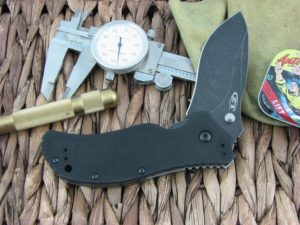 Zero Tolerance Knives Folder Black G10 S30V Blackwash Flipper and Stud Speedsafe 0350BW