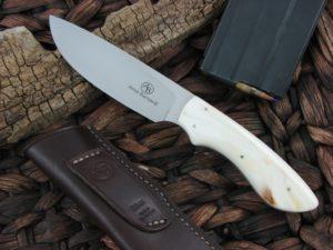 Arno Bernard Cutlery Lion Predator Warthog Tusk handles N690 steel 2301