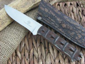 Arno Bernard Cutlery Croc Predator Crocodile Hide handles N690 steel 2412