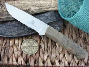 Arno Bernard Cutlery Predator Croc Spalted Maple Wood 2414