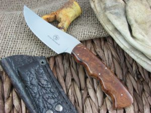 Arno Bernard Knives Sailfish Predator Desert Ironwood Handles N690 steel