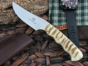 Arno Bernard Knives Sailfish Predator Rams Horn Handles N690 steel EDC