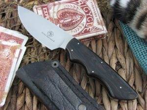 Arno Bernard Cutlery Great White Predator Ebony Wood handles N690 steel 2607