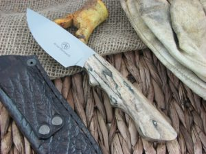 Arno Bernard Cutlery Predator Great White Spalted Maple 2614