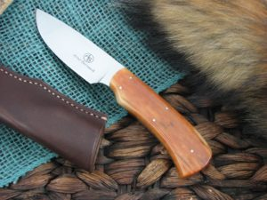 Arno Bernard Knives Nyala Grazer Giraffe Bone handles N690 steel 3102