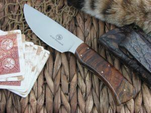 Arno Bernard Knives Warthog Grazer Ironwood handles N690 steel 3303