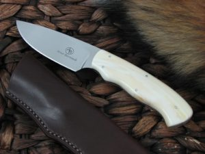 Arno Bernard Cutlery Zebra Grazer Warthog Tusk handles N690 steel 3601