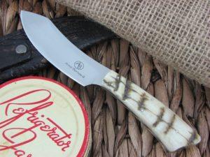 Arno Bernard Knives Wasp Scavenger Sheep Horn handles N690 steel 4504