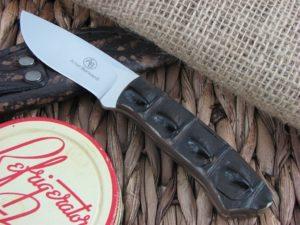 Arno Bernard Knives Wolverine Scavenger Crocodile Hide handles N690 steel 4612
