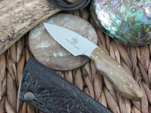Arno Bernard Cutlery Bush Baby Meerkat Spalted Maple 5214