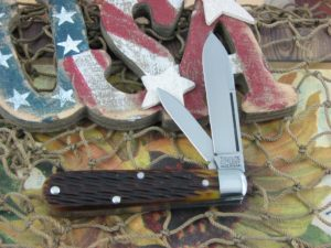 Great Eastern Cutlery Lick Creek Boys Knife Jack Tidioute Cutlery Antique Yellow Bone 142216