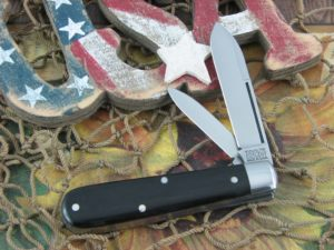 Great Eastern Cutlery Lick Creek Boys Knife Jack Tidioute Cutlery Gabon Ebony Wood 142216