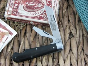 Great Eastern Cutlery Crown Lifter EZ Open Jack Tidioute Gabon Ebony Wood 153216