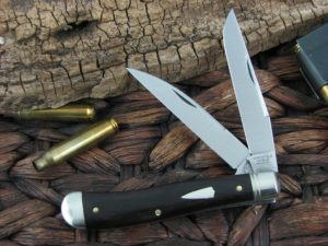 Great Eastern Cutlery Improved Trapper Northfield African Blackwood 488217