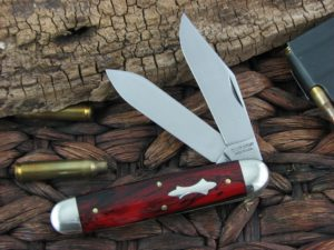 Great Eastern Cutlery Big Jack Tidioute Red River Acrylic 541217BJ