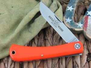 Great Eastern Cutlery Bullnose Sodbuster Farm and Field Orange Delrin 715117