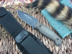 Viper Cutlery David Viperskin Canvas Micarta Hunter Fixed Blade D2 4002CNN