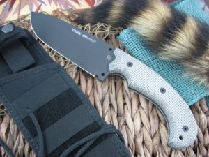 Viper Cutlery Tank Canvas Micarta Hunter Fixed Blade D2 4004BK