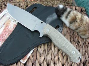 Viper Cutlery Borr Green Canvas Micarta Voxnaes Hunter Fixed Blade D2 4008SWCG