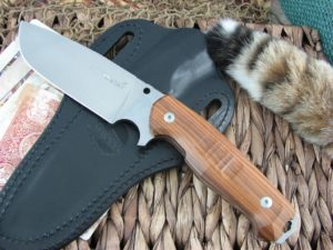 Viper Cutlery Borr Pau Santo Wood Voxnaes Hunter Fixed Blade D2 4008SWPS